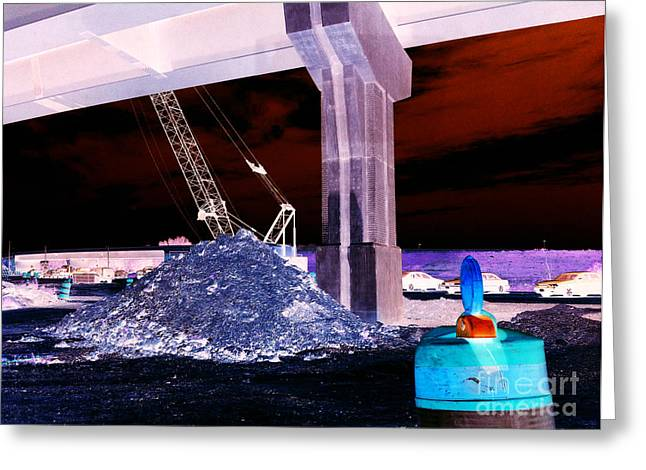 Under Pass Inverted Greeting Card by Jamie Lynn