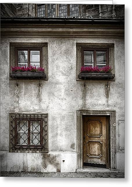 Old Vienna Greeting Cards - Under St Stephens Greeting Card by Joan Carroll
