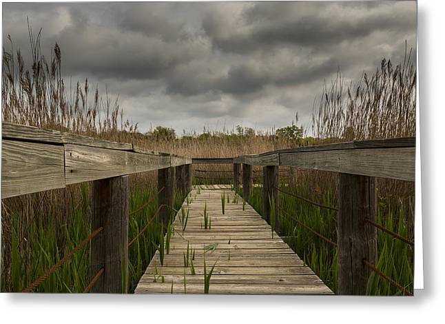 Under The Boardwalk Greeting Card by Jonathan Davison
