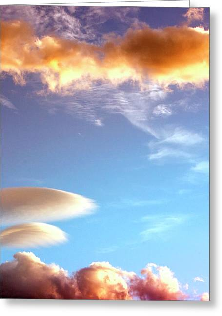 Southern Ca Greeting Cards - UNDER THE DESERT SKY Palm Springs Greeting Card by William Dey
