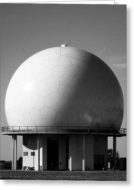 Radar Greeting Cards - Under The Dome Greeting Card by Wim Lanclus