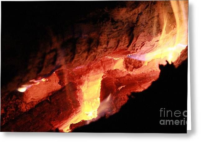 Engulfing Greeting Cards - Under the Fire 1 Greeting Card by Douglas Lintner
