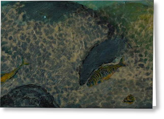 Swordfish Greeting Cards - Under The Sea Greeting Card by Gitta Brewster