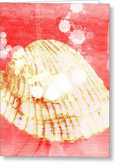 Beach Decor Digital Greeting Cards - Under the sea Greeting Card by Lea Velasquez