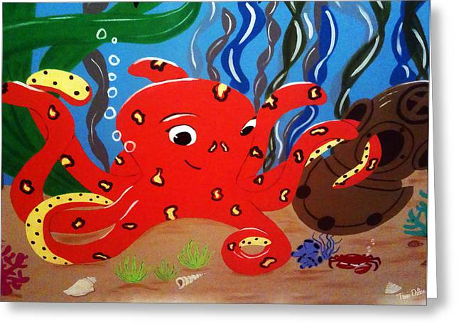Under The Sea Greeting Card by Tami Dalton