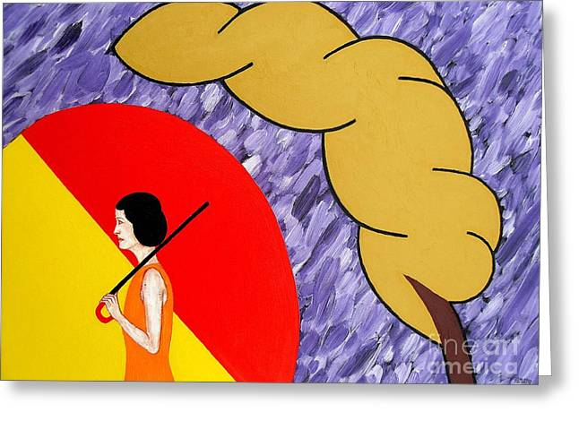 UNDER THE SHELTER OF YOUR LOVE Greeting Card by Patrick J Murphy
