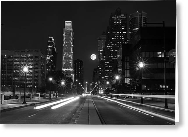 Long Street Greeting Cards - Under the stars Greeting Card by Rob Dietrich