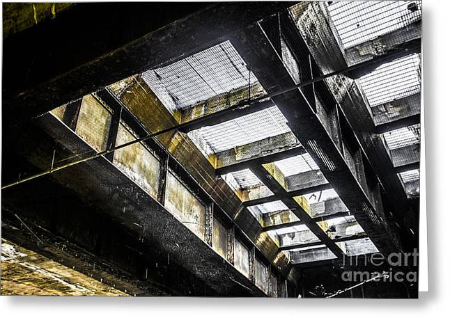 Worcester Greeting Cards - Under the Street Greeting Card by Diane Diederich