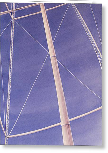 High Plains Greeting Cards - Under the Water Tower Greeting Card by Scott Kirby