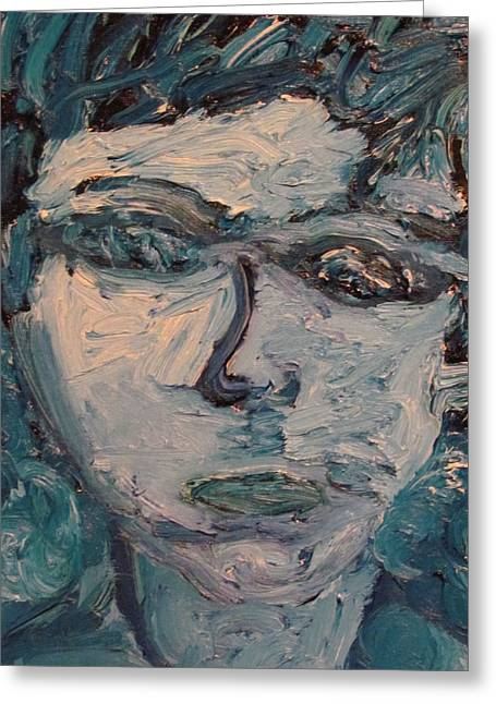 Prussian Blue Greeting Cards - Under Water Greeting Card by Shea Holliman