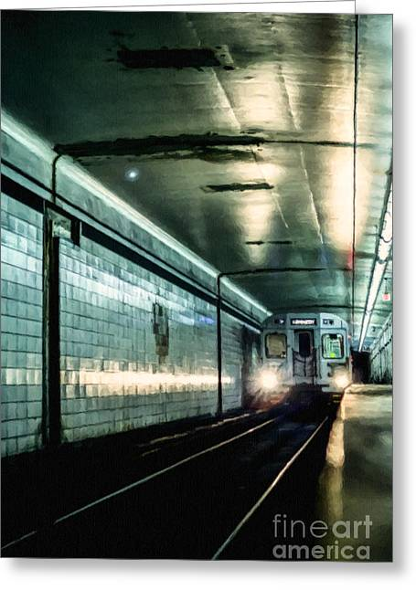 Owned Greeting Cards - Underground Greeting Card by Diane Diederich