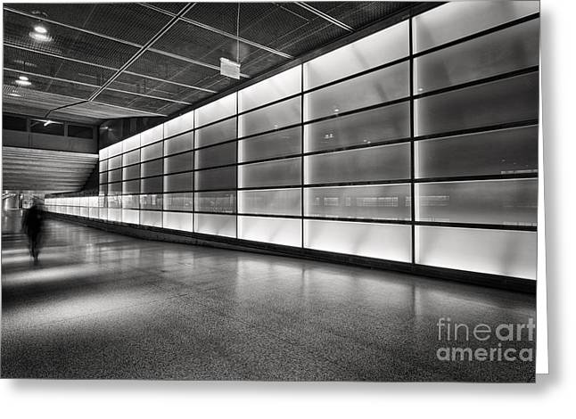 Deutschland Photographs Greeting Cards - Underground Greeting Card by Rod McLean