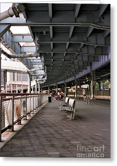 Fdr Drive Greeting Cards - Underneath the FDR Greeting Card by Jannis Werner