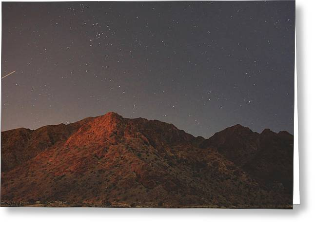 Desert Greeting Cards - Underneath the Same Big Sky Greeting Card by Laurie Search