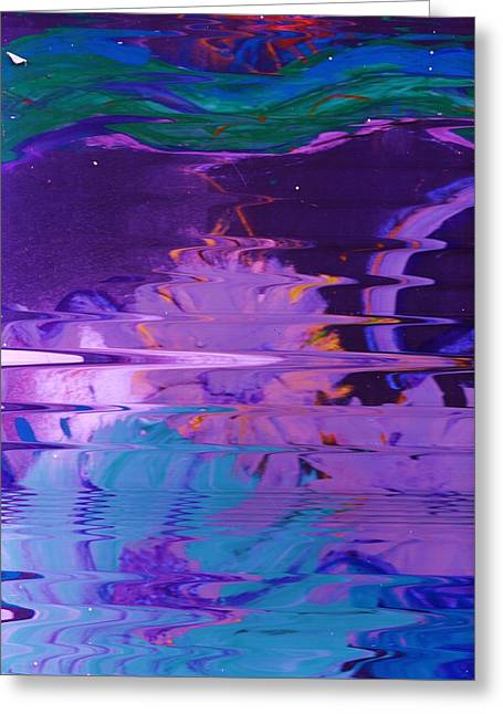 Zigzag Forms Greeting Cards - Undersea Fantasy Fun not Dangerous Greeting Card by Anne-Elizabeth Whiteway