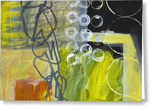 Olives Mixed Media Greeting Cards - Undetermined Greeting Card by Elena Nosyreva
