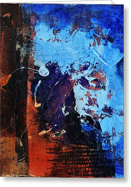 Painted Details Mixed Media Greeting Cards - Unforgettable Greeting Card by Blue Art