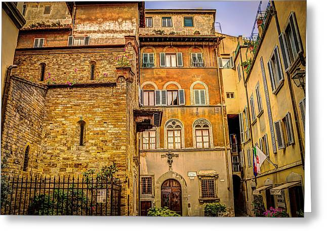Florence Greeting Cards - Unforgettable Florence Greeting Card by Mountain Dreams
