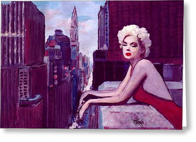 Mirko Greeting Cards - Unforgettable Marilyn Monroe feat by Michelle Williams Greeting Card by Mirko Gallery