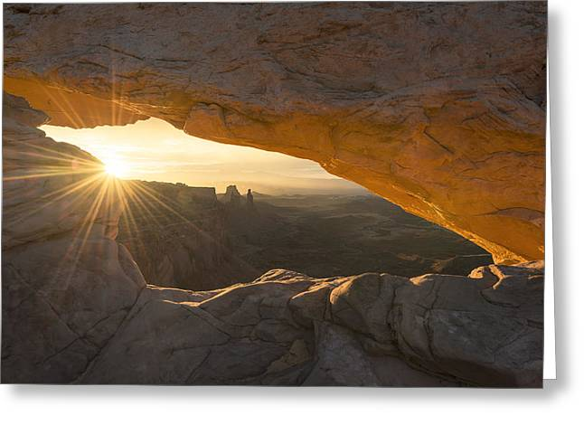 Sunflare Greeting Cards - Unguarded  Greeting Card by Dustin  LeFevre