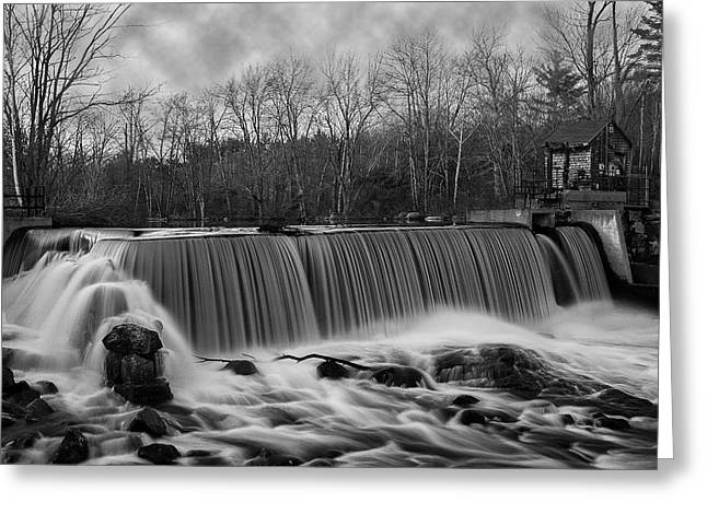 Dam Framed Prints Greeting Cards - Union Dam Greeting Card by Thomas Lavoie