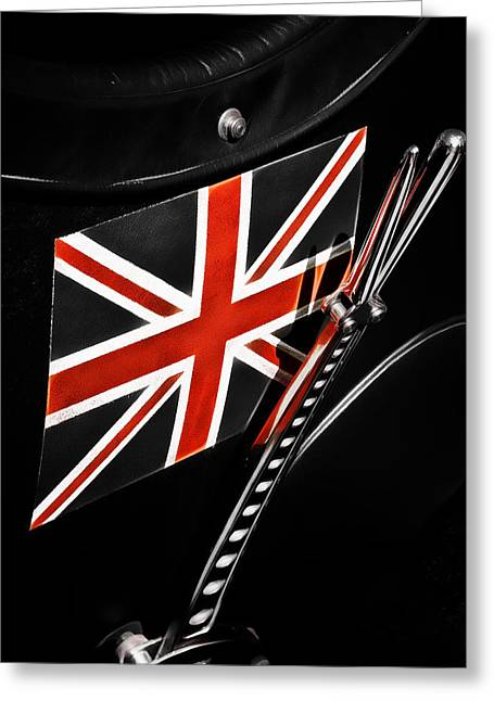 Aotearoa Greeting Cards - Union Jack Greeting Card by Phil