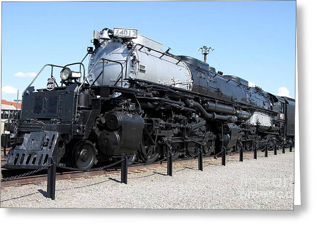 Christiane Schulze Greeting Cards - Union Pacific Big Boy Greeting Card by Christiane Schulze Art And Photography