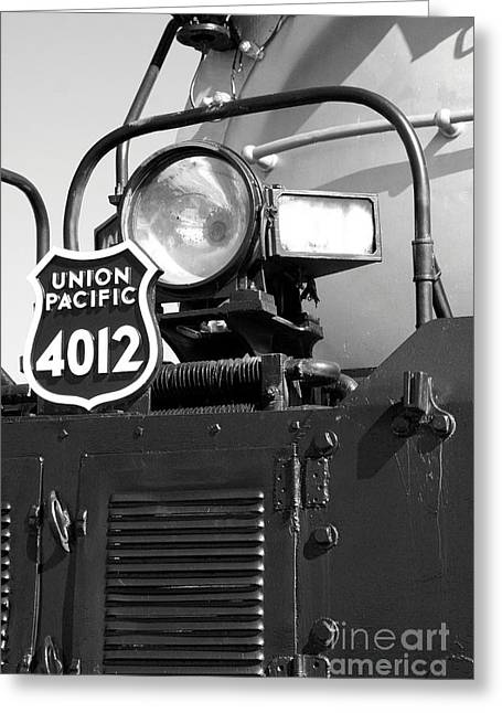 Mechanism Greeting Cards - Union Pacific Big Boy Detail  Greeting Card by Christiane Schulze Art And Photography