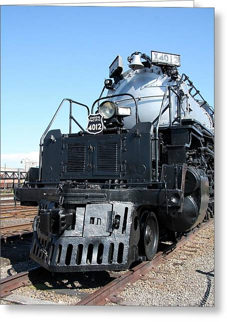 Mechanism Greeting Cards - Union Pacific Big Boy I Greeting Card by Christiane Schulze Art And Photography