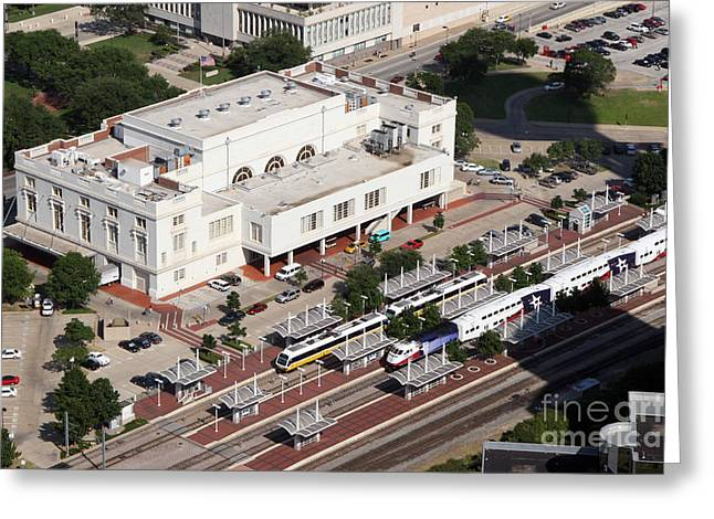 Dart Stations Greeting Cards - Union Station Dallas Texas Greeting Card by Bill Cobb