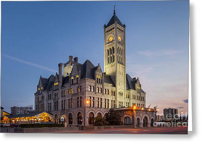 Union Station  Greeting Card by Brian Jannsen