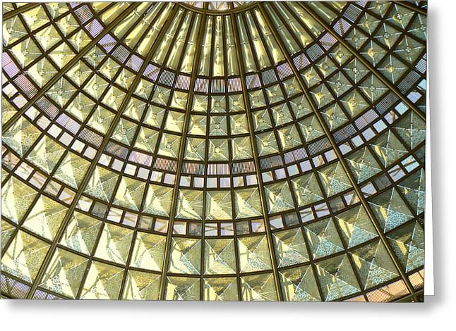 Union Station Skylight Greeting Card by Karyn Robinson