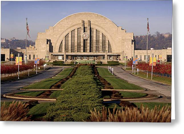 Buy Art Photographs Greeting Cards - Union Terminal Greeting Card by Scott Meyer