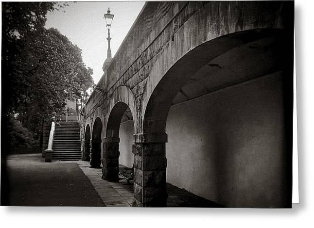 Union Terrace Greeting Cards - Union Terrace Gardens Greeting Card by Dave Bowman