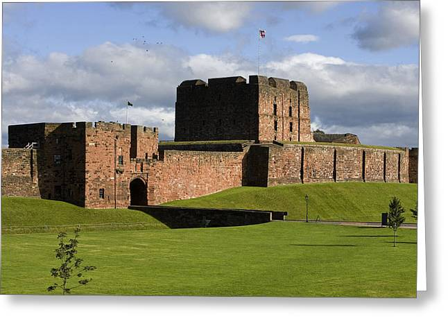 Carlisle Greeting Cards - United Kingdom, England, Carlisle, The Greeting Card by Tips Images