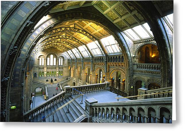 Londoners Greeting Cards - United Kingdom, London, Science Museum Greeting Card by Tips Images