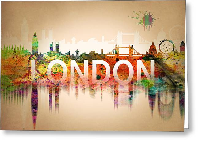 United Kingdom Greeting Card by Mark Ashkenazi