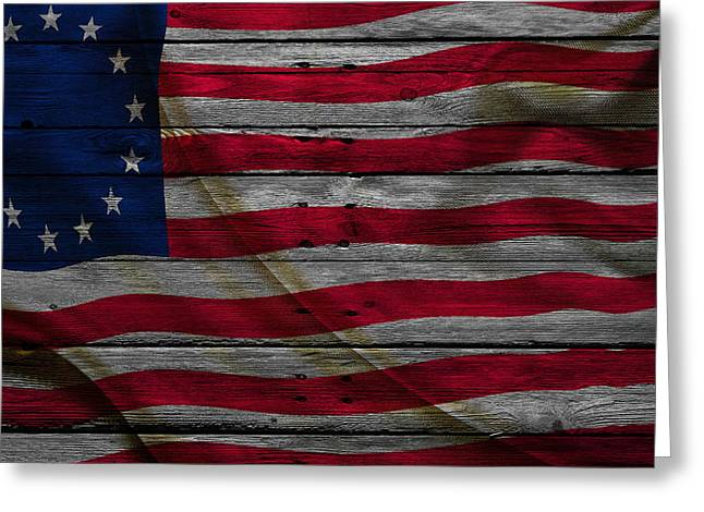United States East Greeting Cards - United States Greeting Card by Joe Hamilton