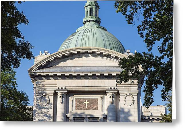 United States Naval Academy Chapel Greeting Card by John Greim