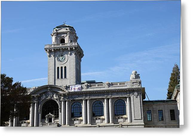 Annapolis Greeting Cards - United States Naval Academy in Annapolis MD - 121211 Greeting Card by DC Photographer