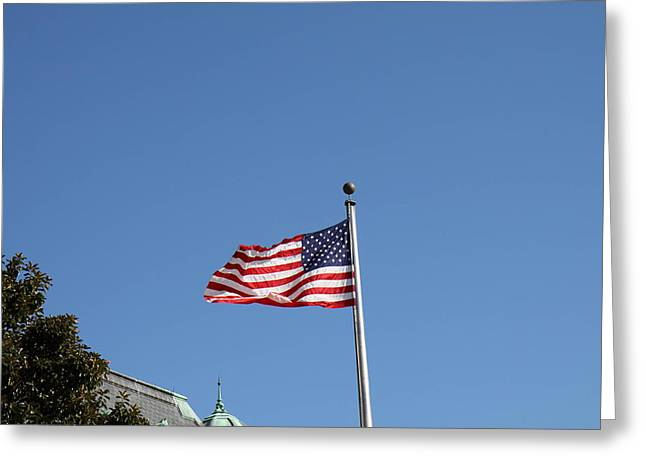 Sailing Greeting Cards - United States Naval Academy in Annapolis MD - 121213 Greeting Card by DC Photographer