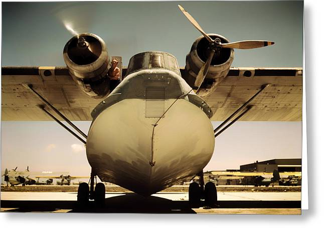 Texas Parks Greeting Cards - United States Navy PBY Catalina 1942 Greeting Card by Mountain Dreams