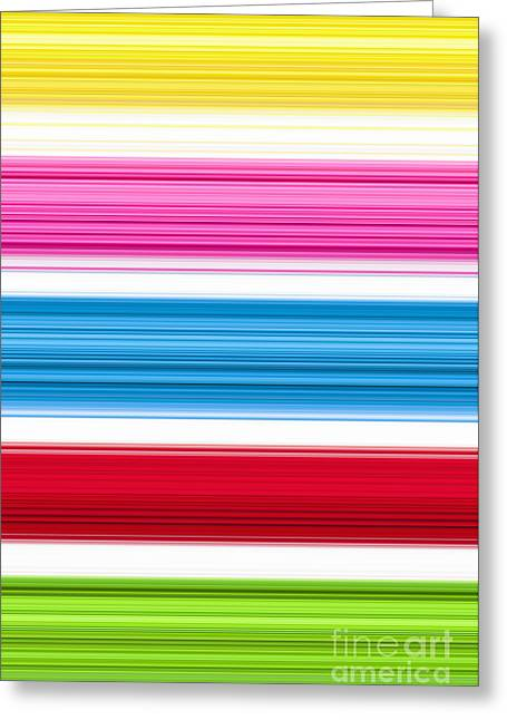 Vivid Colour Greeting Cards - Unity of Colour 3 Greeting Card by Tim Gainey
