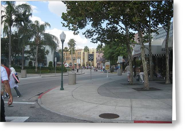 Amusements Greeting Cards - Universal Orlando Resort - 121221 Greeting Card by DC Photographer