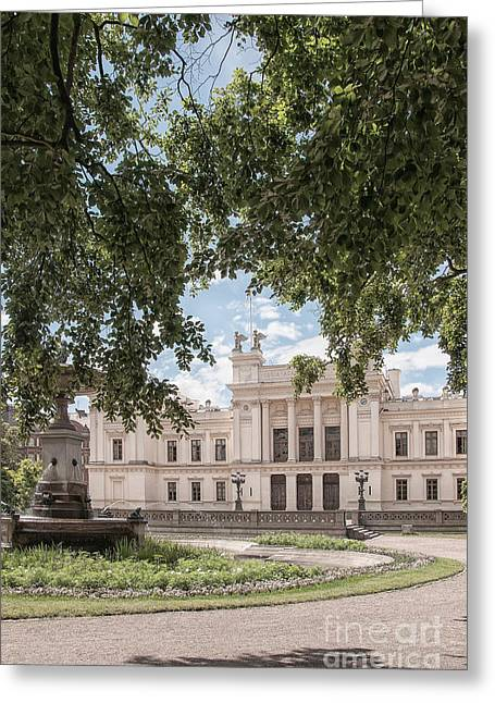 Lund Greeting Cards - university in Lund Greeting Card by Antony McAulay