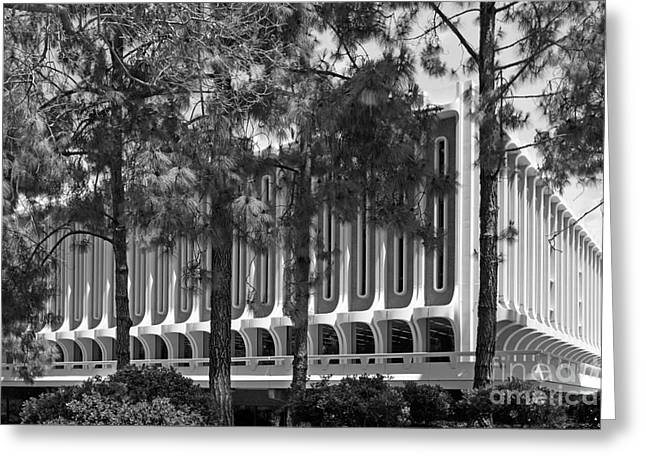 University Of California Irvine Langson Library Greeting Card by University Icons