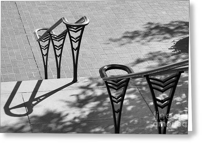 Great Cities Universities Greeting Cards - University of Cincinnati Railings Greeting Card by University Icons