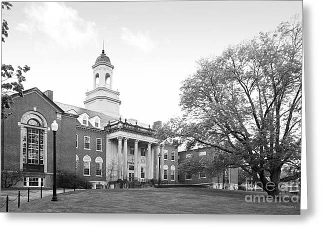 Special Occasions Greeting Cards - University of Connecticut Wilbur Cross Building Greeting Card by University Icons
