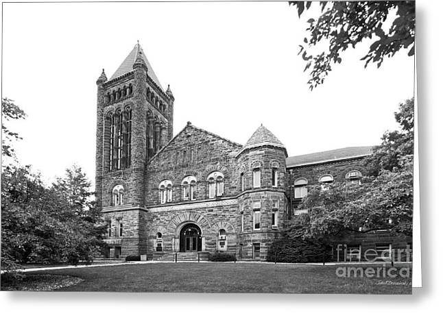 University Of Illinois Altgeld Hall Greeting Card by University Icons