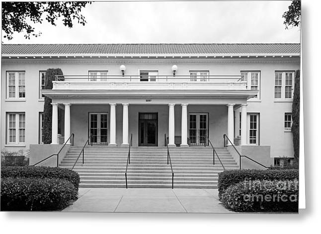 California Images Greeting Cards - University of La Verne Miller Hall Greeting Card by University Icons